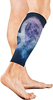 Zodiac Zodiac Sign, Leo Calf Compression Sleeve Leg Compression Socks For Shin Splint Calf Pain Relief Men Women And Runners Improves Circulation Recovery