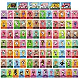 91Pcs NFC Villagers Cards for Sanrio Animal Crossing Amiibo Cards Compatible with Switch/Switch Lite/Wii U/New 3DS