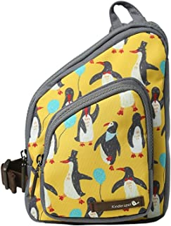 Kinderspel All-in-One Toddler Backpack/Sling Bag/Crossbody/Insulated Lunch Bag