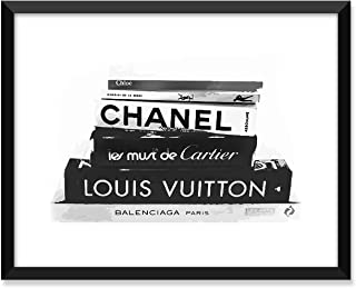 Serif Design Studios Fashion Books - Louis Vuitton, Chanel, YSL, Cartier, Balenciaga, Chloe