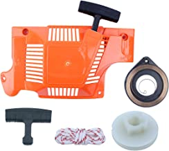Starter Recoil Assembly Pulley Spring Handle Rope Service Kit For HUSQVARNA 55 RANCHER, 50, 51, 55 Chainsaw Replace Parts