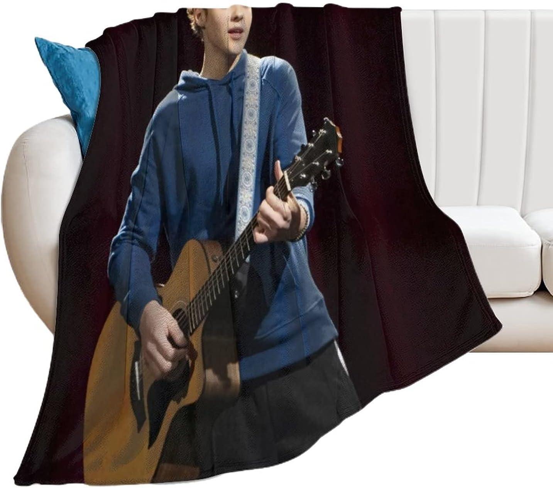 Joshua Bassett Play Guitar Blanket Lightweight Microfiber Throw Popularity Free shipping anywhere in the nation