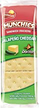 Munchies Doritos Jalapeno Cheddar Sandwich Crackers on Golden Toast 1.38 oz (8 Packets)