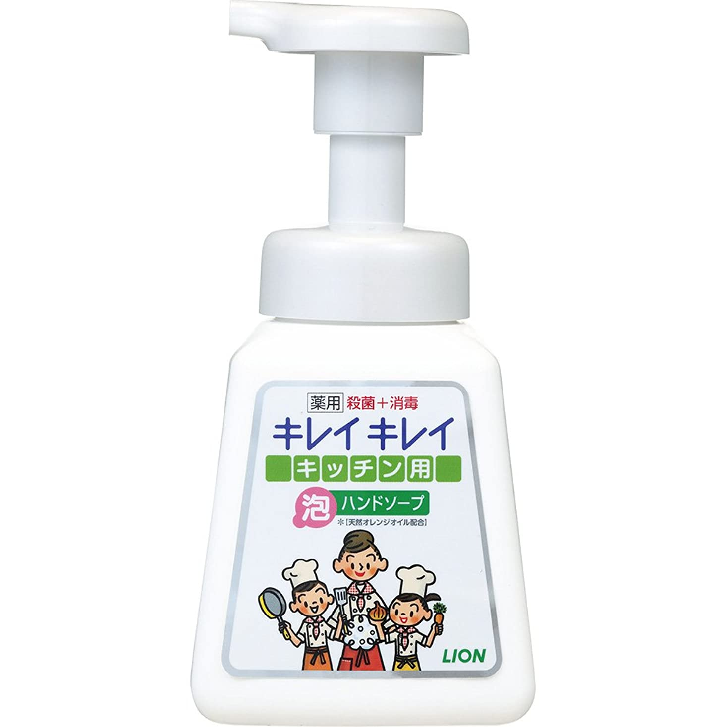 メンバー妊娠した手キレイキレイ 薬用 キッチン泡ハンドソープ 本体ポンプ 230ml(医薬部外品)