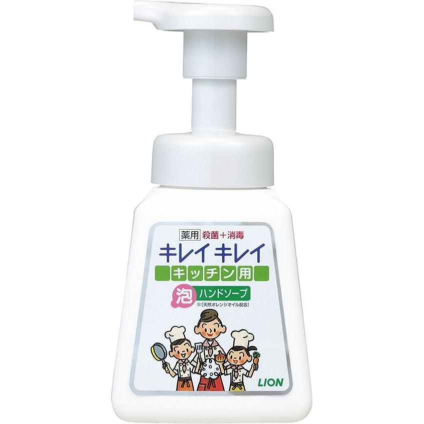 急いで味わう異邦人キレイキレイ 薬用 キッチン泡ハンドソープ 本体ポンプ 230ml(医薬部外品)