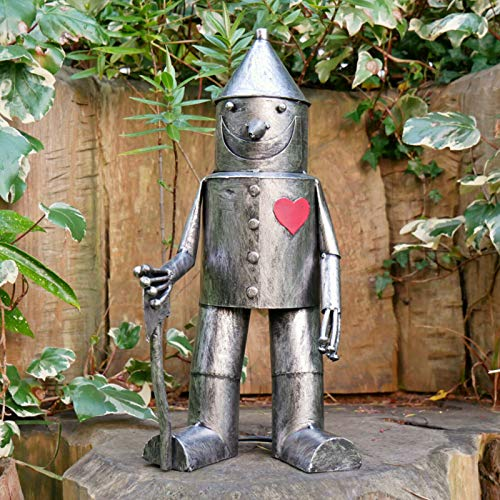 Darthome Ltd New Vintage Metal Wizard Of Oz Tin Man Garden Lawn Art Sculpture Ornament Small