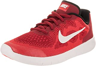 Nike Kids Free Rn 2017 (PS) Gym Red/Off White Track Red Running Shoe 2 Kids US