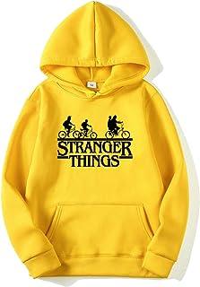 Sudadera Stranger Things Mujer, Sudadera Stranger Things 3 Niña Stranger Things Sudadera de Deporte Hombres Casual Niños S...