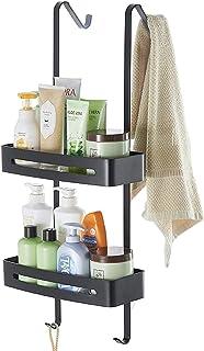 TZAMLI Étagère de douche sans perçage - Étagère de douche à suspendre sur la paroi de douche - Étagère de salle de bain av...