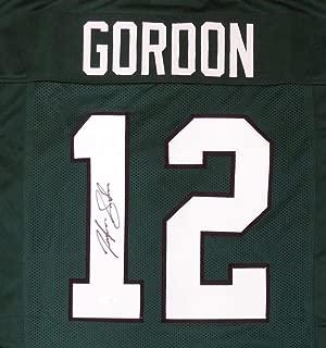 Baylor Bears Josh Gordon Signed Auto Green Jersey - Beckett Certified