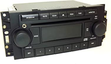 04-10 Chrysler AM FM CD Upgraded w Aux Input for iPhone Android REF P05091710AE (Renewed)