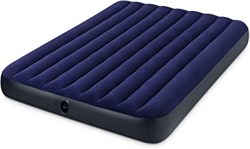Intex Metal/Wood Classic Downy Inflatable Queen AirBed, Double/3 kg, 68759