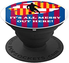Barcelona Spain PSC soccer design - PopSockets Grip and Stand for Phones and Tablets