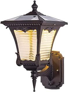 SSLW Luz De Pared Solar Luz LED Impermeable Al Aire Libre Conveniente Luz De Jardín Balcón Pasillo Inicio