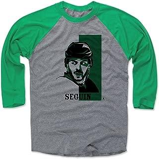 Tyler Seguin Shirt - Vintage Dallas Hockey Raglan Tee - Tyler Seguin Vector