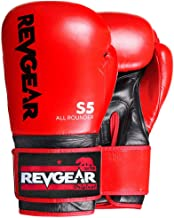 Revgear S5 All Rounder Boxing Glove | Designed for use as Hit Pads, Mitts, or Heavy Bags and Sparring | Boxing and Kickboxing