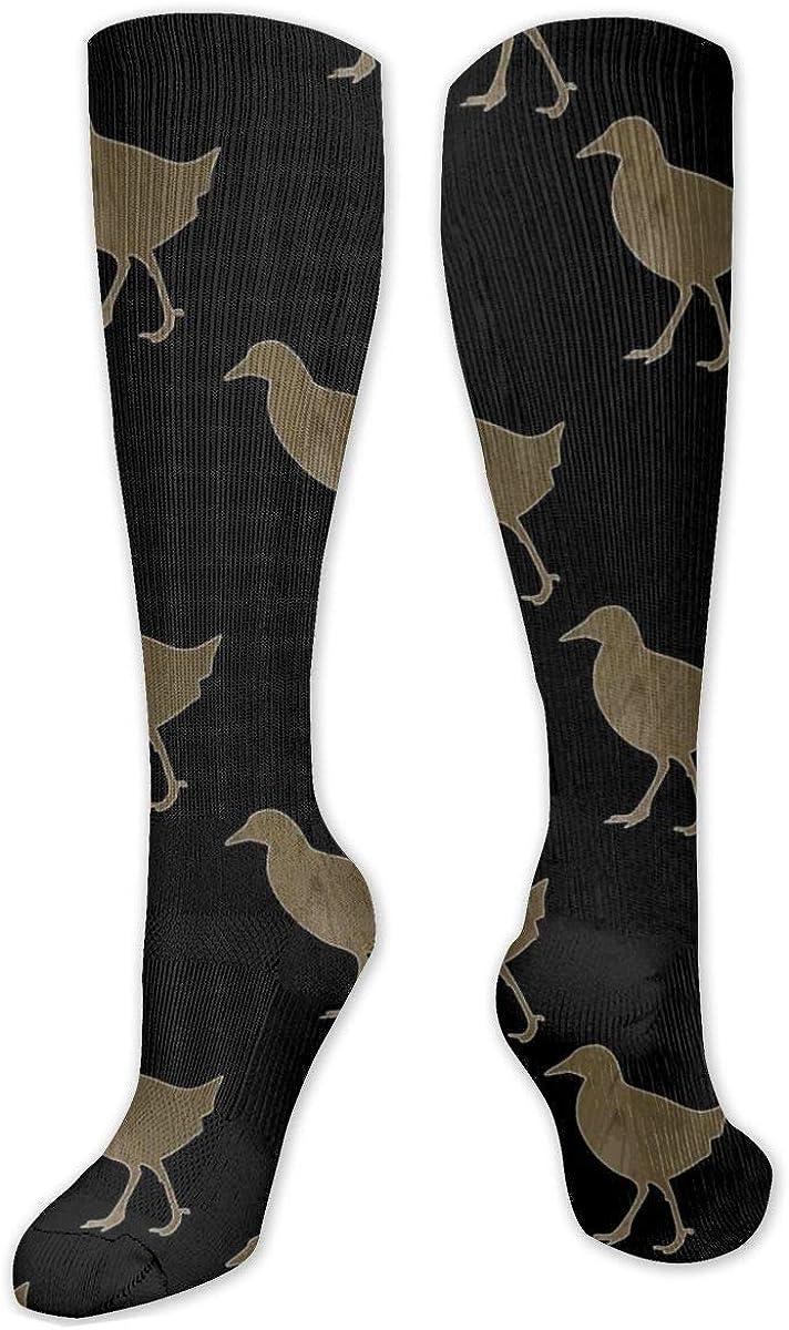 Cute Chicken Knee High Socks Leg Warmer Dresses Long Boot Stockings For Womens Cosplay Daily Wear