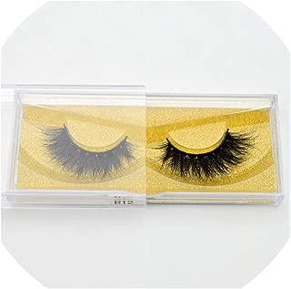 3D Mink Eyelashes Volume Mink Eyelash Extensions Cruelty free Fluffy Natural False Lashes R12,R12
