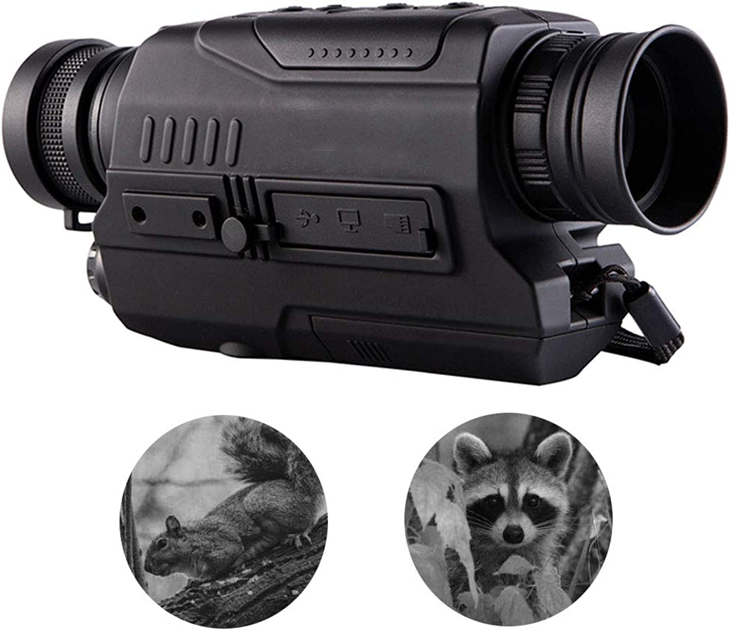 Digital Night Vision  Monocular 5X32 with Picture Video Recording Function Infrared Lighting Hunting Equipmentfor Hunting&Scouting Game