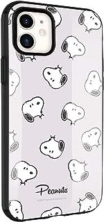 グルマンディーズ ピーナッツ IIIIfit iPhone11/XR(6.1インチ)対応ケース スヌーピー グレー SNG-453A