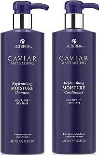 Caviar 鱼子酱抗衰老补水保湿洗发水和护发素套装(487ml*2)