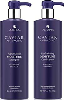 CAVIAR Anti-Aging Replenishing Moisture Shampoo and Conditioner Set, 16.5-Ounce
