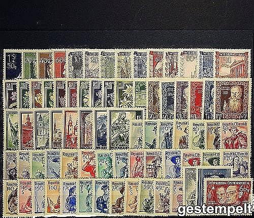 Goldhahn  erreich 1948 gestempelt - Briefürken für Sammler