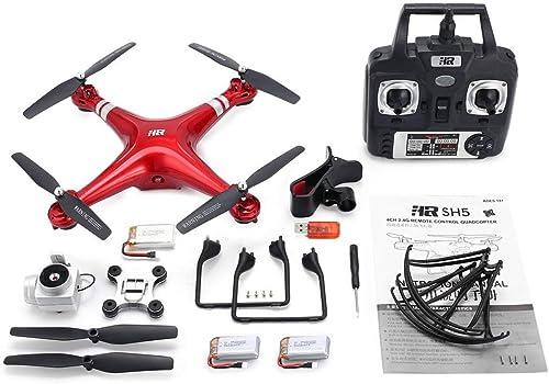 ventas en linea Comomingo SH5H 2.4G 720P Cámara WiFi FPV RC RC RC Drone con retención de altitud de 3 baterías (rojo)  caliente