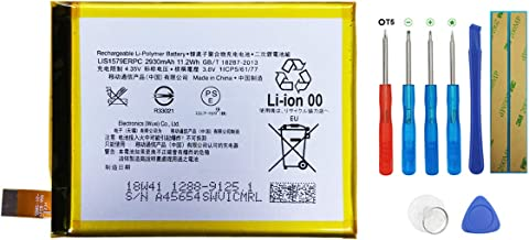 Swark Battery LIS1579ERPC Compatible with Sony Xperia C5 Ultra E5506 Z3+ Plus Z4 Dual with Tools