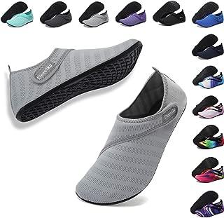 Deevike Womens Mens Water Shoes Quick-Dry Barefoot Aqua Socks for Outdoor Beach Swim Surf Yoga Exercise