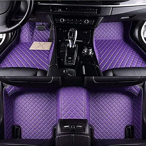 Coche Alfombrillas Moqueta De Cuero Para Nissan X-Trail T32 7 Seat 2014-2019(LHD), Juego De Alfombras Personalizadas Impermeable ProteccióN Moquetas De Cobertura Completa Antideslizante