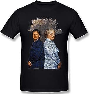 Robin Williams Mrs Doubtfire Funny Poster Men's Basic Short Sleeve T-Shirt