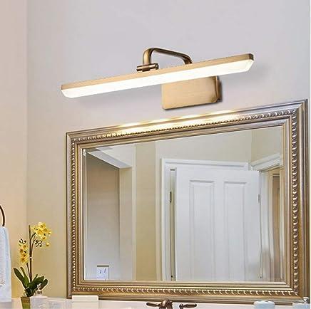 Art Deco Lights Led Lampe De Salle De Bain Miroir Lumière Rétro Maquillage  Chambre Lampe