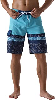 Sponsored Ad - Unitop Men's Bathing Board Trunks Beach Shorts Holiday Hawaiian Colorful Striped