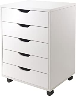 Winsome Halifax Storage/Organization, 5 drawer, White