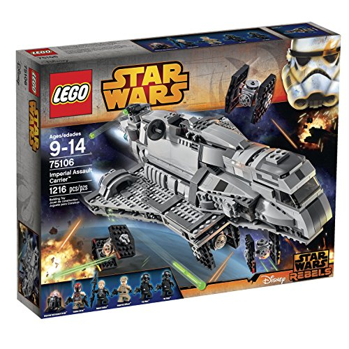 LEGO Star Wars Imperial Assault Carrier 75106 Building Kit by LEGO