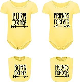 Completo Mamma /& Bimbo Abbinato Composto da Un Body Bimbo Cotone e Una T-Shirt da Donna Cotone. Zarlivia Clothing Queen Bee And Baby Bee