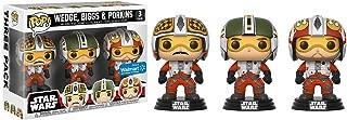 Funko - Figurine Star Wars - Tri Pack Pilots Biggs, Wedge & Porkins Exclusive Pop 10cm - 0889698219839