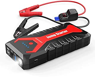 DBPOWER 2000A 20800mAh Portable Car Jump Starter (up to 8.0L Gas/6.5L Diesel Engines)..
