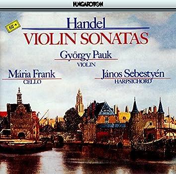 Handel: Violin Sonatas Nos. 2B -8