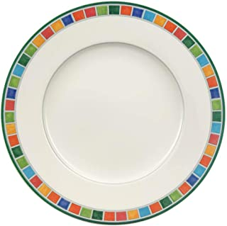 Villeroy & Boch 1013622640 Twist Alea Caro Salad Plate, 8.25 in, White/Multicolored