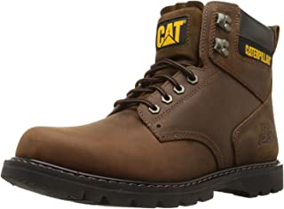 Caterpillar Men's Second Shift Steel Toe Work Boot, Dark...