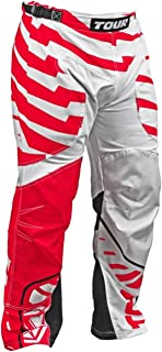 Tour Hockey HPA64RD-XL Adult Code Activ Hockey Pants, X-Large