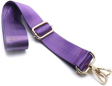 5cm wide Purple and Blue Bag Strap Adjustable Purse Strap
