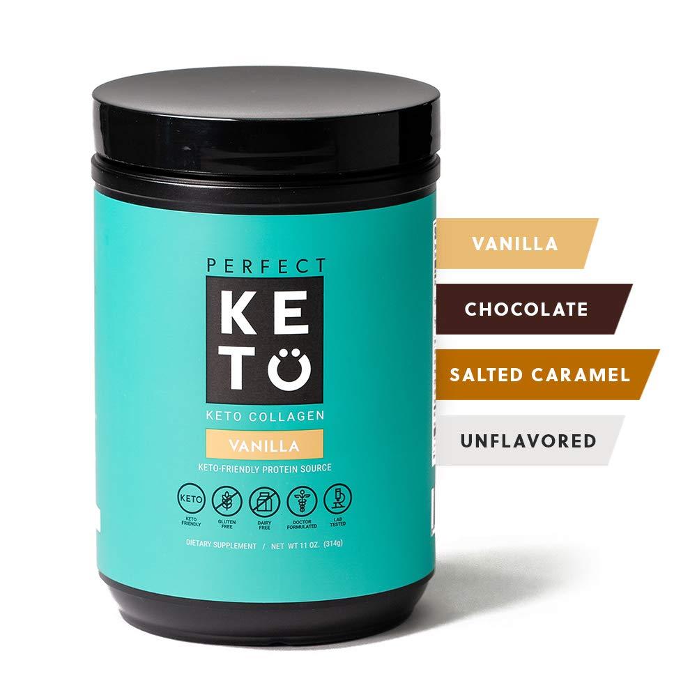 Perfect Keto Collagen Peptides Vanilla