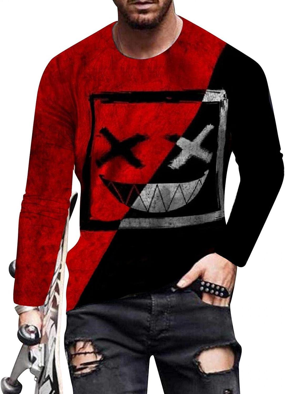 Huangse Men's T Shirts Hip Hop Sweatshirt Rapper Tee Hipster Tees - Stylish Urban Streetwear Fashion Color Block T Shirt