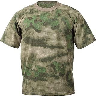 Camo T-Shirt Military Short Sleeve Tee Army Camouflage Tactical Uniform Tshirt