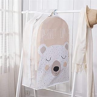 Housse de protection pour vêtements Housses for vêtements transparent Robes Housse imperrespirant anti-poussière Veste sac...