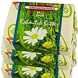 Echte unverfälschte Bio Butter aus Rohmilch. Sauerrahmbutter und Süssrahmbutter aus traditioneller Fertigung in kleinen Chargen und von Hand produziert. Die ursprünglichste Form der Butterherstellung. Zum pobieren 2 Stk je 0,25kg Sauerrahmbutter und ...