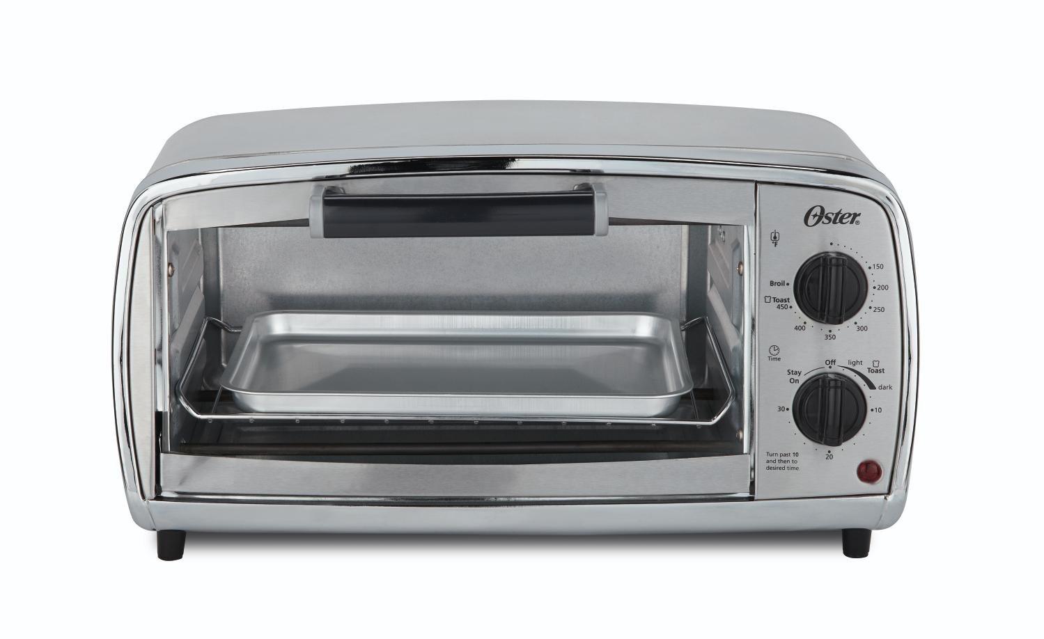 Oster Toaster Slice Stainless TSSTTVVGS1